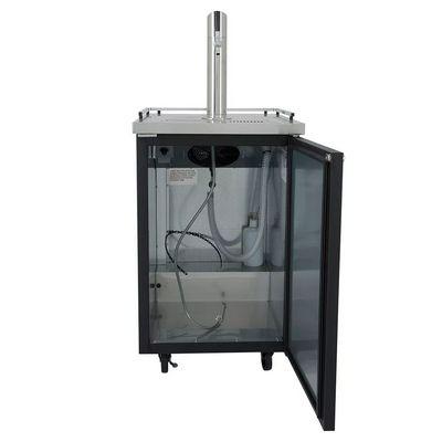 true tdd-1 direct draw refrigerator door open