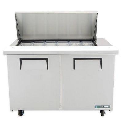 true tssu-48-18m mega top refrigerator front view