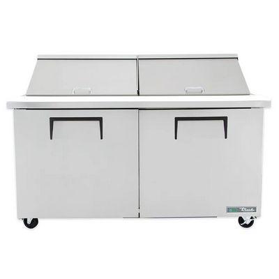 true tssu-60-24m mega top refrigerator front view