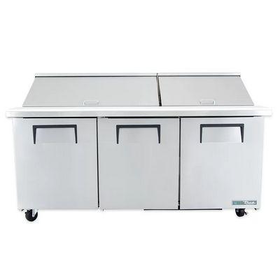 true tssu-72-30m mega top refrigerator front view