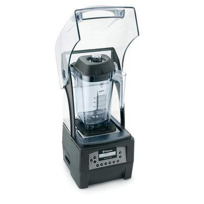 vitamix 36019 beverage blender with sound enclosure opened jar
