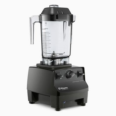 vitamix 5086 drink machine advance with blender cup left side view