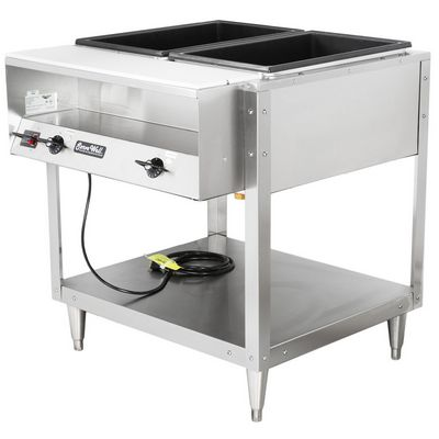vollrath 38102 electric hot food table right side view