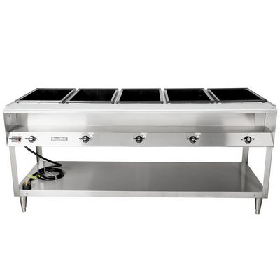 vollrath 38105 electric hot food table front view