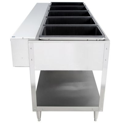 vollrath 38105 electric hot food table side view