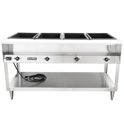 vollrath 38118 electric hot food table front view