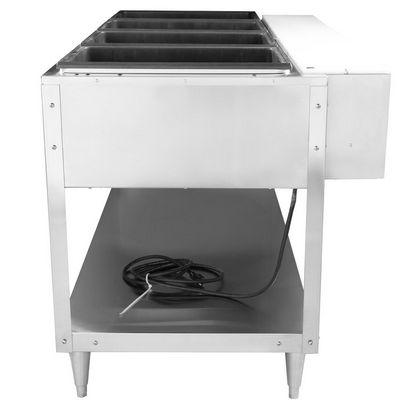 vollrath 38118 electric hot food table side view
