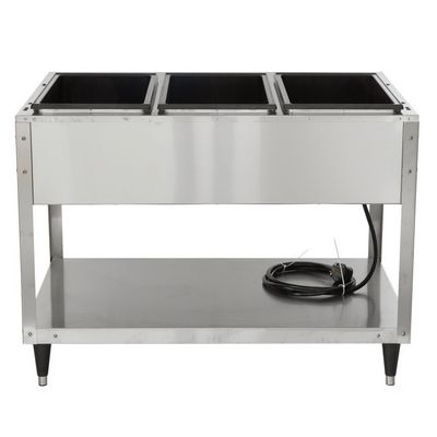 vollrath 38213 hot food table back view