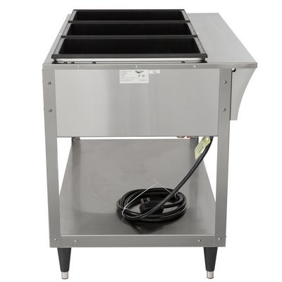 vollrath 38213 hot food table side view