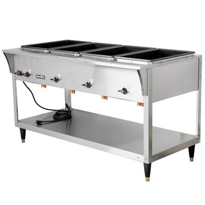 vollrath 38218 electric hot food table right side view