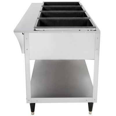 vollrath 38218 electric hot food table side view
