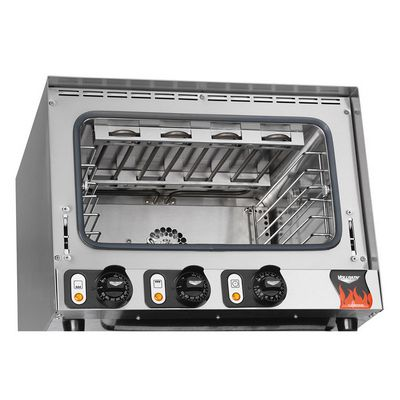 vollrath 40703 half size countertop electric convection oven inside