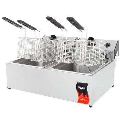 vollrath 40707 commercial countertop electric fryer fryer basket