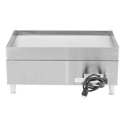 vollrath 40716 commercial electric griddle back view