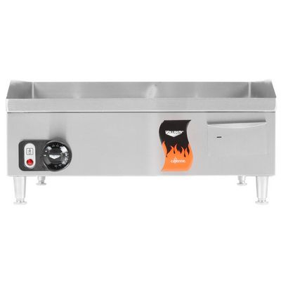 vollrath 40716 commercial electric griddle front view