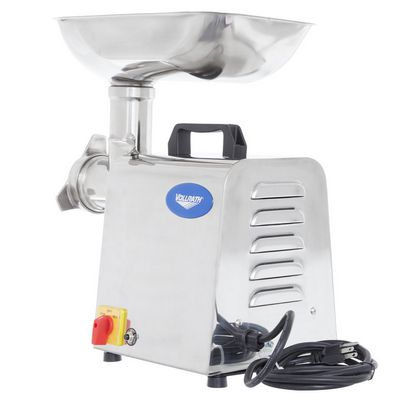 vollrath 40743 commercial meat grinder back view