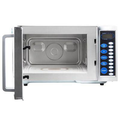 vollrath 40819 moderate duty commercial microwave oven door open