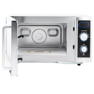 vollrath 40830 moderate duty commercial microwave oven door open