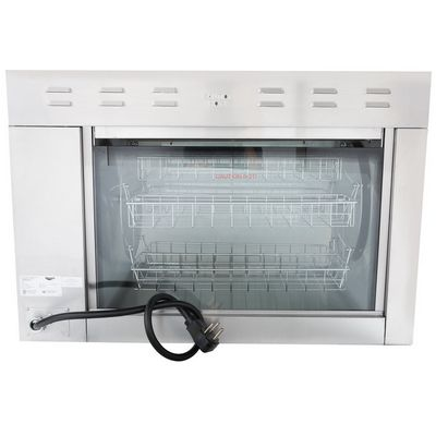 vollrath 40841 electric rotisserie oven back view