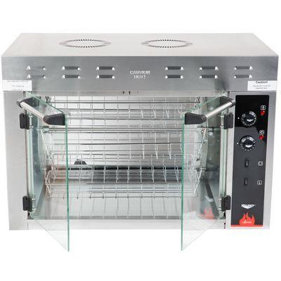 vollrath 40841 electric rotisserie oven door open