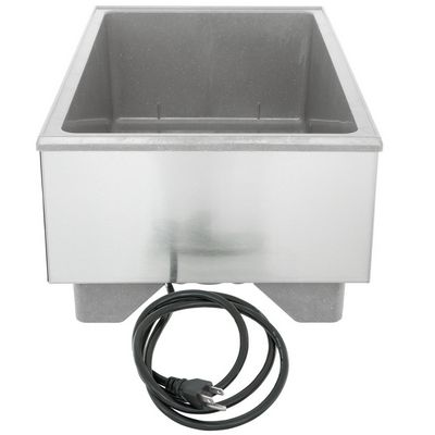 vollrath 72020 single pan food rethermalizer back view