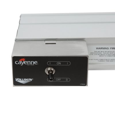 vollrath 72675019 heat strip control buttons