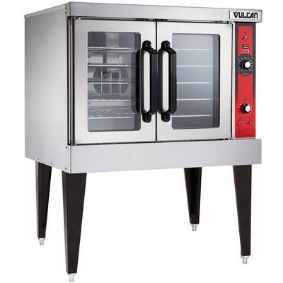 vulcan vc4e electric convection oven singel left side view