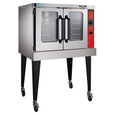 vulcan vc5g gas convection oven single deck left side view