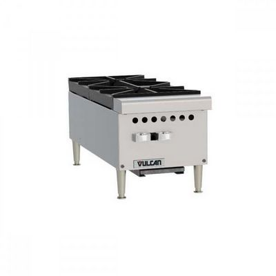 vulcan vcrh12 commercial gas hot plate left side view