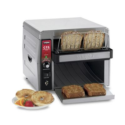 waring cts1000 conveyor toaster with toasts
