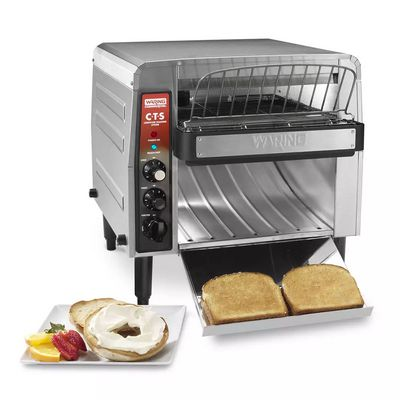 waring cts1000b conveyor toaster with toasts