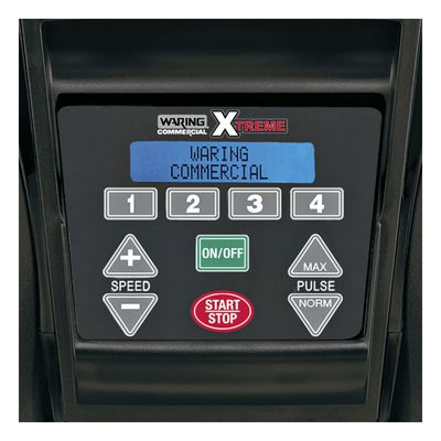waring mx1500xtxp beverage blender with sound enclosure control buttons