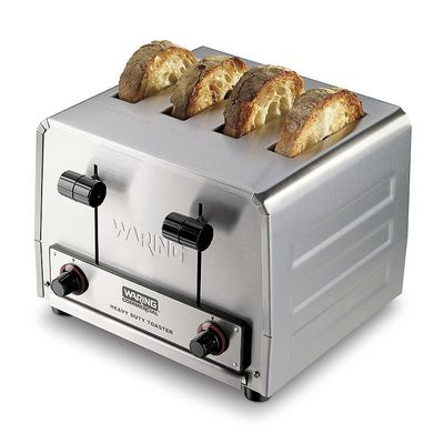 waring wct805b commercial pop up toaster with toasts