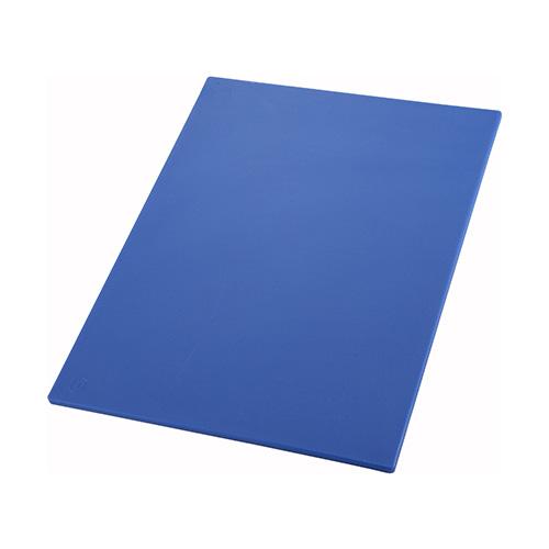 Winco CBBU-1218 Blue Cutting Board - 12in x 18in
