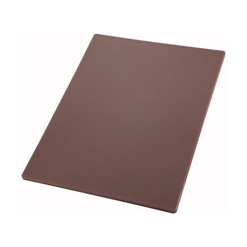 Winco CBBN-1824 Brown Cutting Board - 18in x 24in