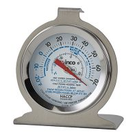 Winco TMT-RF2 Freezer/Refrig Thermometer - 2in Dial