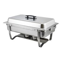 Winco C-4080 Full-Size Folding Stand Chafer - 8qt
