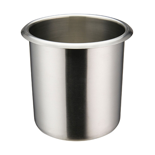 Winco BAMN-1.5 Mirror Finish Stainless Steel Bain Marie Pot - 1.5qt