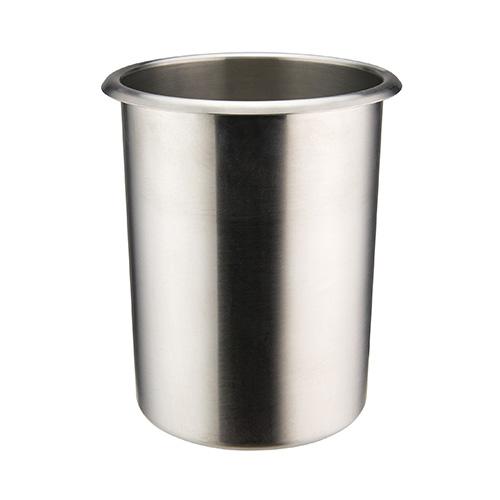 Winco BAMN-2 Mirror Finish Stainless Steel Bain Marie Pot - 2qt
