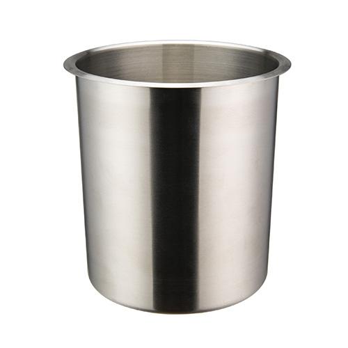 Winco BAMN-4.25 Mirror Finish Stainless Steel Bain Marie Pot - 4.25qt