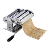 Winco NPM-7 Pasta Maker With Detachable Cutter - 7in