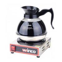 Winco ECW-1 Single Burner Electric Coffee Warmer - 100 Watts