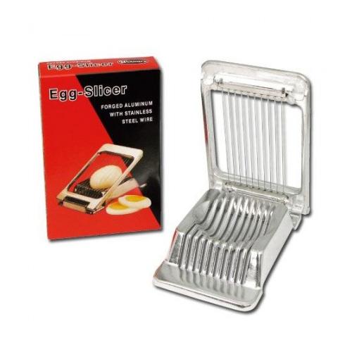 Winco AES-4 Square Aluminum Egg Slicer - 3.25in