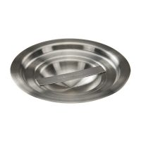 Winco BAMC-1.25 Stainless Steel Bain Marie Cover - 1.25qt