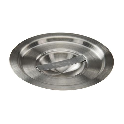 Winco BAMC-2 Stainless Steel Bain Marie Cover - 2qt