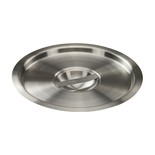 Winco BAMC-6 Stainless Steel Bain Marie Cover - 6qt