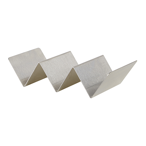 Winco TCHS-23 Stainless Steel Taco Holder - 2-3 Slots