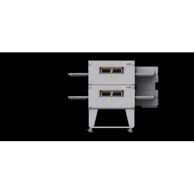 xlt xlt-2440-ts3 gas conveyor oven double front view