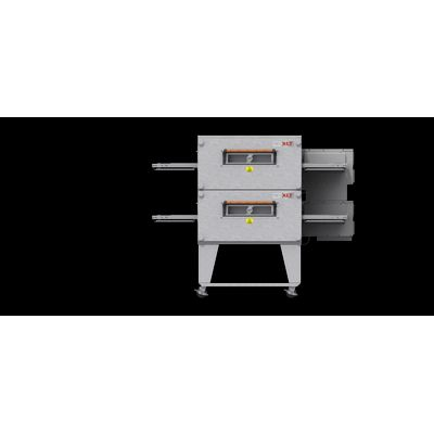 xlt xlt-3240-ts3 gas conveyor oven double front view